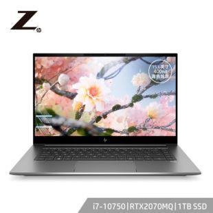 惠普(HP)Z系列ZBook CreateG7 15.6英寸 移动工作站 笔记本 Windows 10 家庭版/i7-10750H/16G/1TBSSD/RTX2070MQ/400nit高色域
