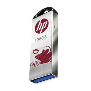 惠普(HP)HP x720w,128GB USB 3.1 鼠年定制U盘(庚子年) 高速安全迷你车载电脑两用优盘