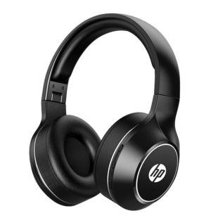 惠普(HP)商用BT200无线蓝牙头戴式耳机 手机电脑通用型充电耳机  蓝牙5.0降噪办公/游戏耳机 黑色