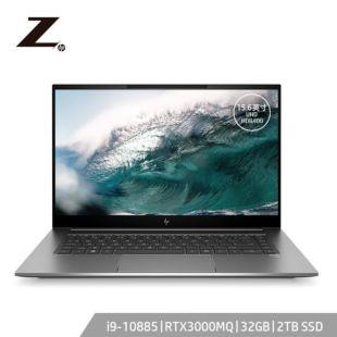 惠普(HP)ZBookStudioG7 15.6英寸设计本笔记本电脑移动工作站i9-10885H/32G/2T SSD/RTX3000MQ/UHD 600nit HDR