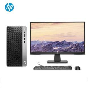 惠普(HP)战99 商用办公台式电脑主机(九代i3-9100 8G 512GSSD WiFi蓝牙 Office 注册五年上门)21.5