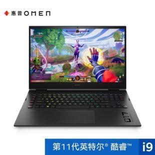 惠普(HP)暗影精灵7Plus 17-ck0059TX游戏本 17.3英寸笔记本电脑(i9-11900H Windows 10 家庭版 32G 1TSSD RTX3080 16G独显 2K 高色域)