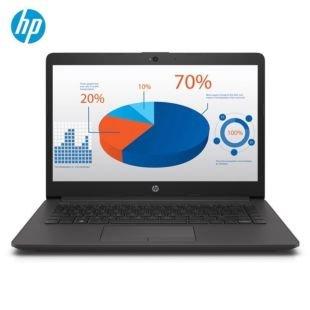 惠普(HP)246 G7 14英寸笔记本电脑(Windows 10 家庭版 i3-7020U 4G 256GSSD 2G独显  一年上门)黑灰银色