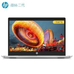 惠普(HP)战66 二代 15.6英寸轻薄笔记本电脑(i5-8265U 8G 512G PCIe SSD MX250 2G独显 100%sRGB)银色