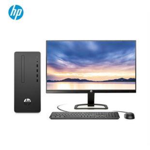 惠普(HP)战66 商用办公台式电脑主机(九代i3-9100 8G 1TB 正版Office 注册五年上门) 23.8英寸