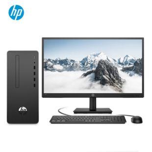 惠普(HP)战66 商用办公台式电脑主机(九代i3-9100 8G 1TB Win10 正版Office 四年上门)21.5英寸