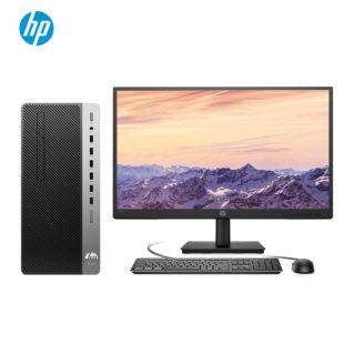 惠普(HP)战99商用办公台式电脑主机(十代i3-10100 8G 256GSSD  WiFi蓝牙 Win10 Office 四年上门)21.5英寸