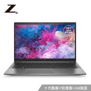 惠普(HP)ZBook_Firefly14G7 14英寸设计本笔记本电脑移动工作站i7-10510U/16G/1T SSD/4G独显/高色域