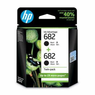 HP 682 黑色墨盒双包装