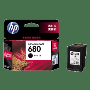 HP 680 号 Ink Advantage 黑色原装墨盒