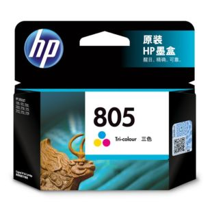 HP 805 三色原装墨盒(适用HP DeskJet 1210/1212/2330/2332/2720/2721/2722/2723/2729)