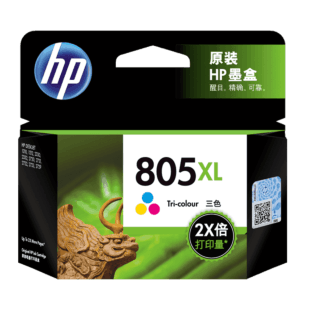 HP 805XL 高印量三色原装墨盒(适用 HP DeskJet 1210/1212/2330/2332/2720/2721/2722/2723/2729)