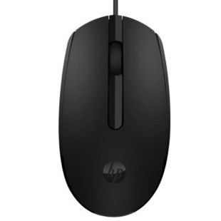 惠普(HP)M10有线鼠标 USB光电便携台式机电脑游戏笔记本办公鼠标 1000DPI 黑色