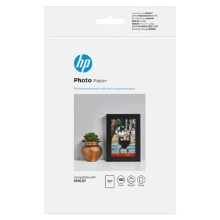 HP 光面相纸 - 100 张/10 x 15 厘米