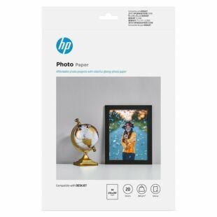HP 光面相纸 - 20 张/A4