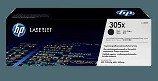 HP 305X 高收益黑色原装 LaserJet 硒鼓