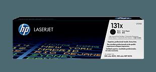 HP 131X 高收益黑色原装 LaserJet 硒鼓