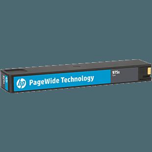 HP 975X 高印量青色原装 PageWide 墨盒