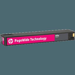 HP 975X 高印量品红色原装 PageWide 墨盒
