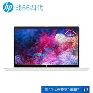 惠普(HP)战66 四代 14英寸轻薄笔记本电脑(i7-1165G7 8G 512G MX450 2G独显 一年上门+意外 2年电池)