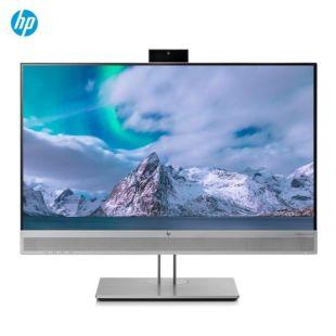 惠普(HP)E243m 23.8英寸 IPS宽屏 三面微边框视频会议显示器 旋转升降显示屏 HDMI线 B&O音箱 720P摄像头