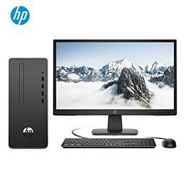 惠普(HP)战66 商用办公台式电脑主机(Windows 10 家庭版 九代i3-9100 8G 256GSSD Office WiFi蓝牙 注册五年上门)21.5英寸
