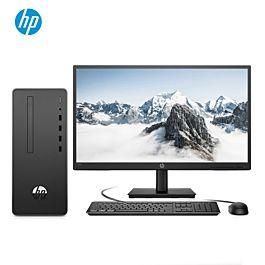 惠普(HP)战66 商用办公台式电脑主机(九代i3-9100 8G 256GSSD Win10 Office WiFi蓝牙 四年上门)21.5英寸