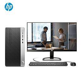 惠普(HP)战99 商用办公台式电脑主机(九代i5-9500 8G 1TB+256GSSD 2G独显 WiFi蓝牙 四年上门)23.8英寸
