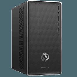 惠普(HP)星 590 590-p055rcn 商务办公台式电脑整机(九代i5-9400 8G 512SSD UMA Win10 三年上门)黑色