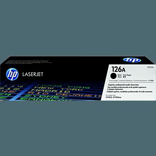 HP 126A 黑色原装 LaserJet 硒鼓