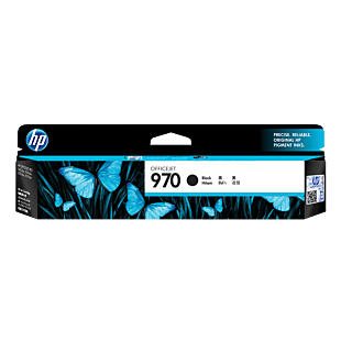 惠普 970 号黑色原装耗材