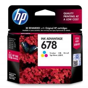 惠普 678 号彩色原装高级墨盒