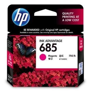 惠普 685 号品红色原装高级墨盒