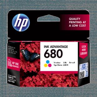 HP 680 号 Ink Advantage 三色原装墨盒