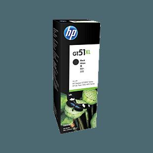 惠普 GT51XL135 毫升黑色原装墨水瓶
