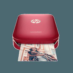 惠普HP 小印手机照片打印机Sprocket 100(红色限量版)