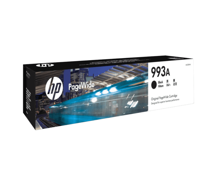 HP 993A 黑色原装 PageWide 墨盒