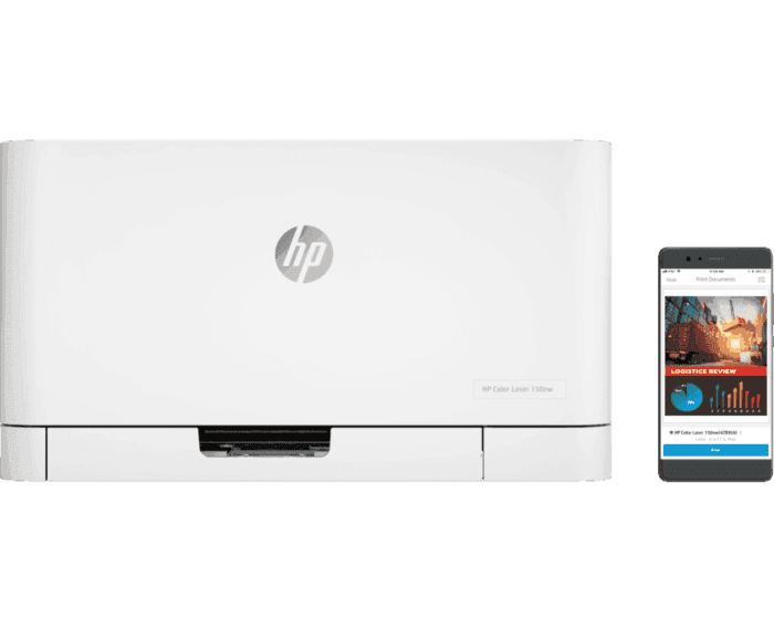 HP Color Laser 150nw 彩色激光打印机
