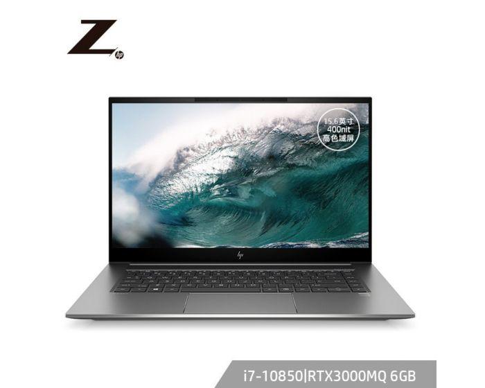 惠普(HP)ZBookStudioG7 15.6英寸设计本笔记本电脑移动工作站 Windows 10 家庭版/i7-10850H/16G/1TB SSD/RTX3000MQ/高色域