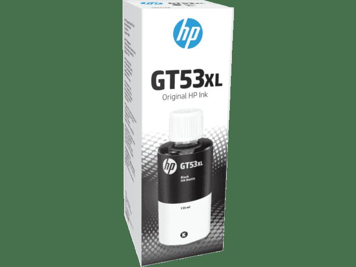HP GT53XL 135 毫升黑色原装墨水瓶