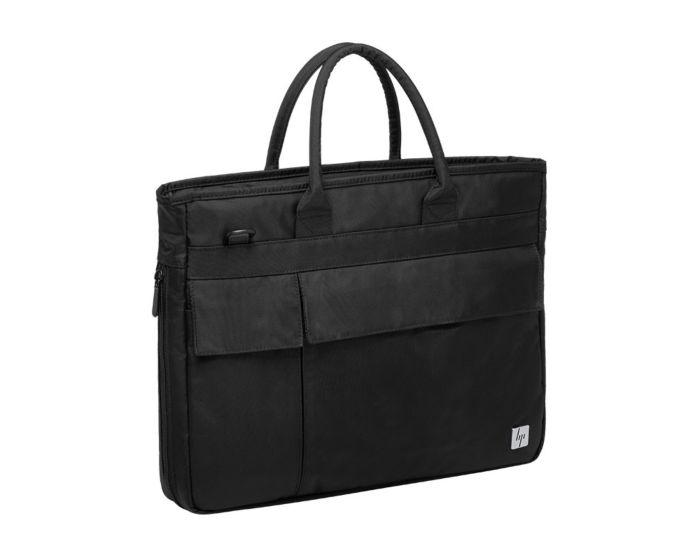 惠普(HP) 战66商务休闲笔记本电脑包 15.6英寸单肩手提背包 黑色