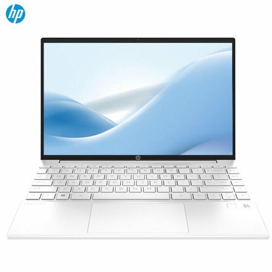 【蔡徐坤代言】惠普(HP)星13Air Pavilion 13-be0154AU 轻薄笔记本电脑  (Windows 10 家庭版/R5-5600U/16G/512GSSD/2560x1600  2.5K高分辨率/100%sRGB高色域/DC调光/陶瓷白)