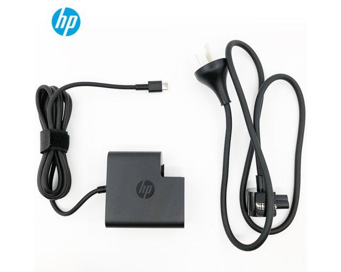 惠普(HP)65W笔记本电源适配器 usb-c旅行适配器 便携适配器Type-c接口充电器