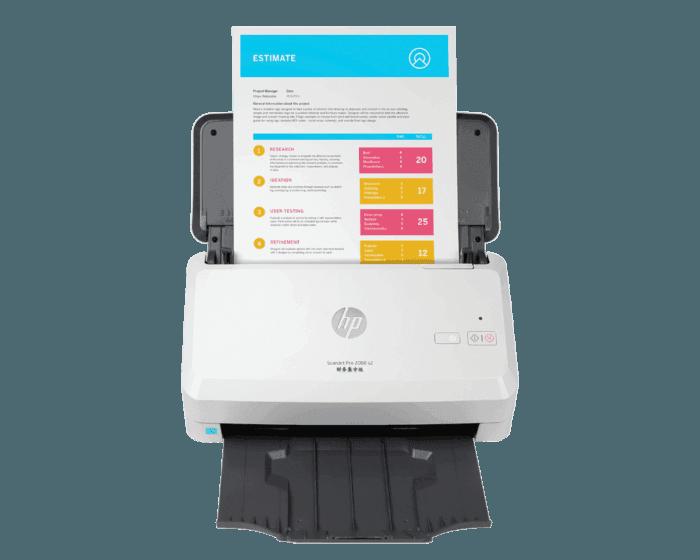 HP ScanJet Pro 2000 s2 馈纸式扫描仪财务集中版扫描仪