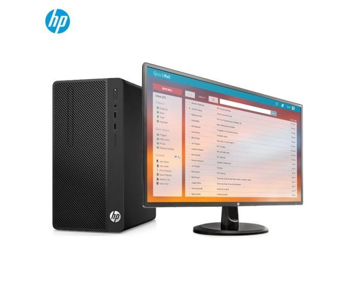 HP 288 Pro G3 MT(I5-7500/4G DDR4 2400/1000G/Linux  中标麒麟V7.0/USB键鼠/3-3-3有限保修/v270液晶)