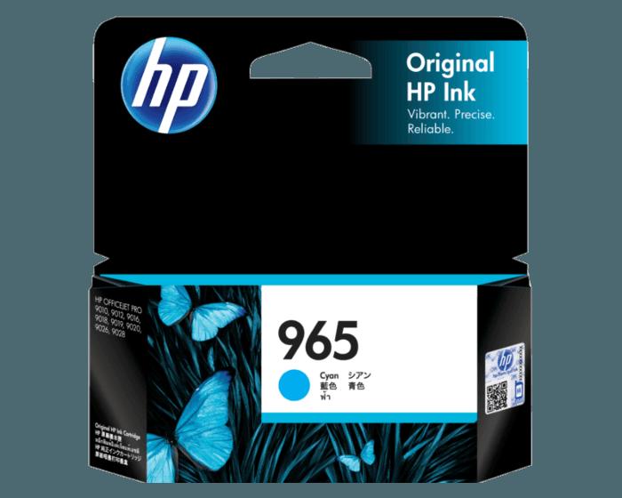 HP 965 青色原装墨盒