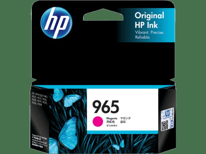 HP 965 品红色原装墨盒