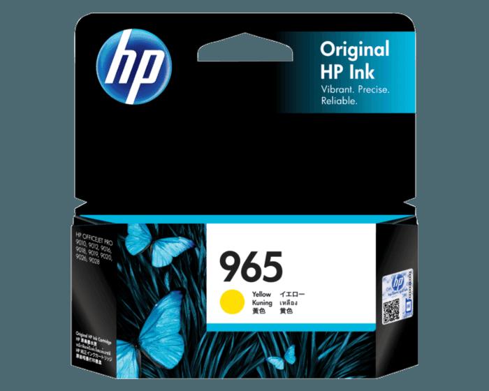 HP 965 黄色原装墨盒