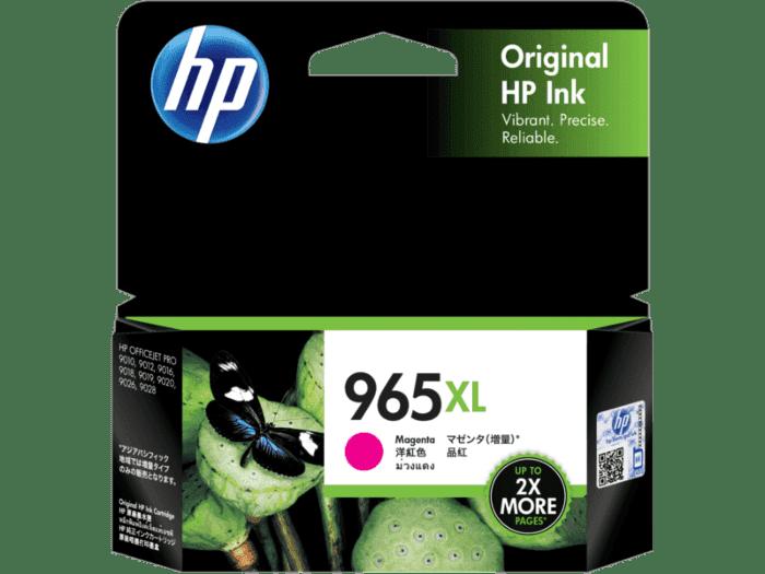HP 965XL 高印量品红色原装墨盒
