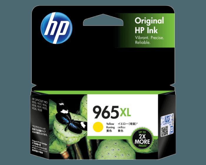 HP 965XL 高印量黄色原装墨盒